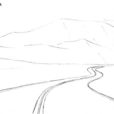 Как нарисовать дорогу