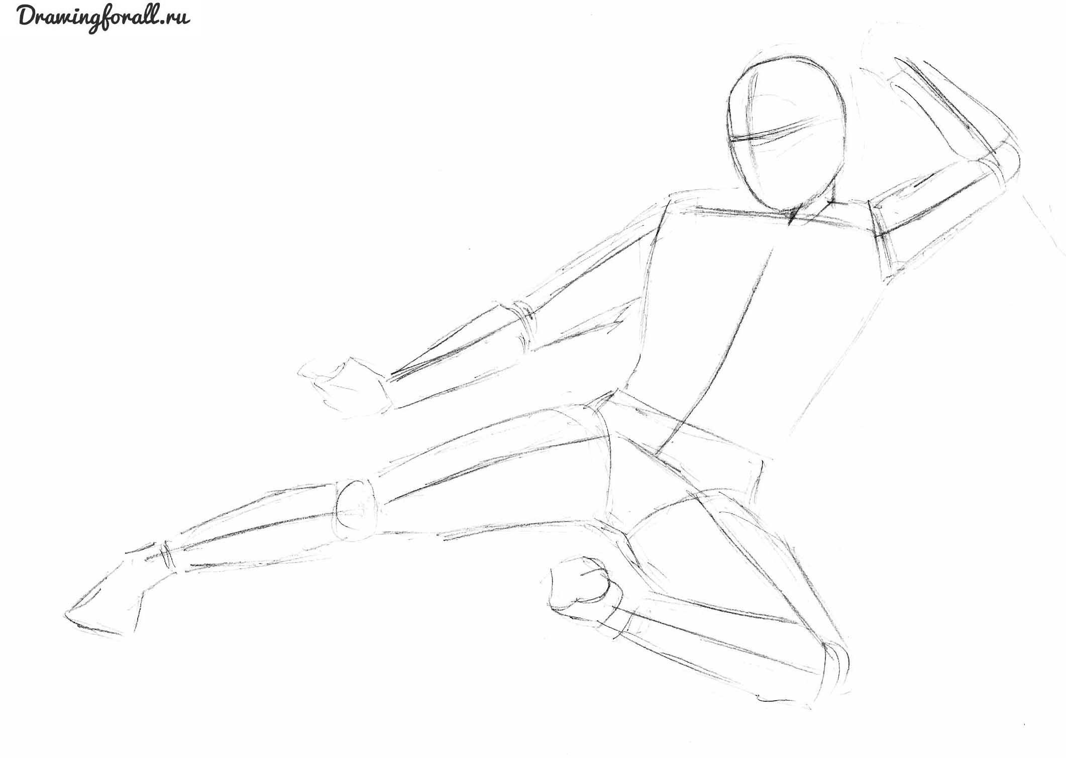 уроки рисования - ниндзя