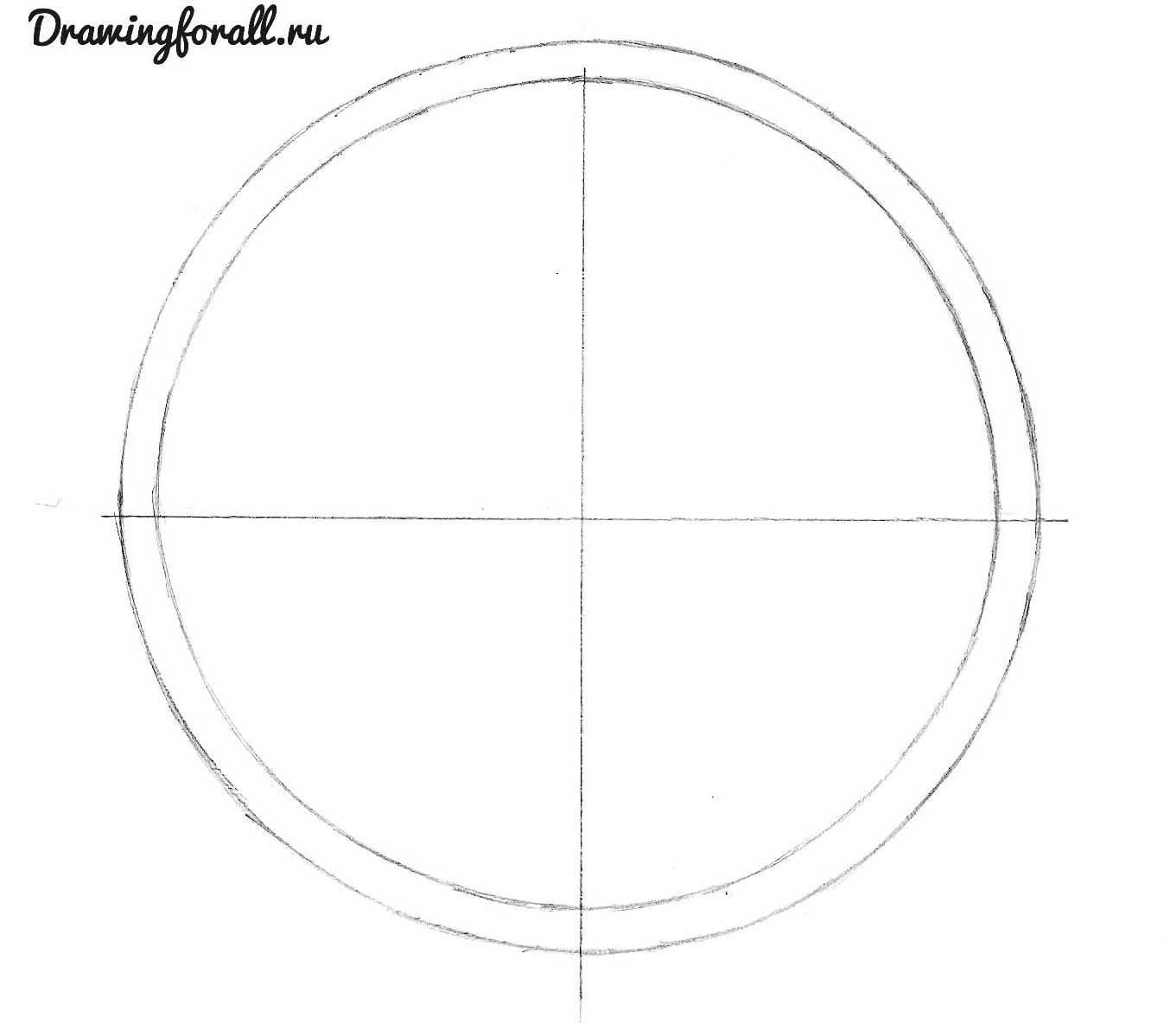 как нарисовать часы поэтапно