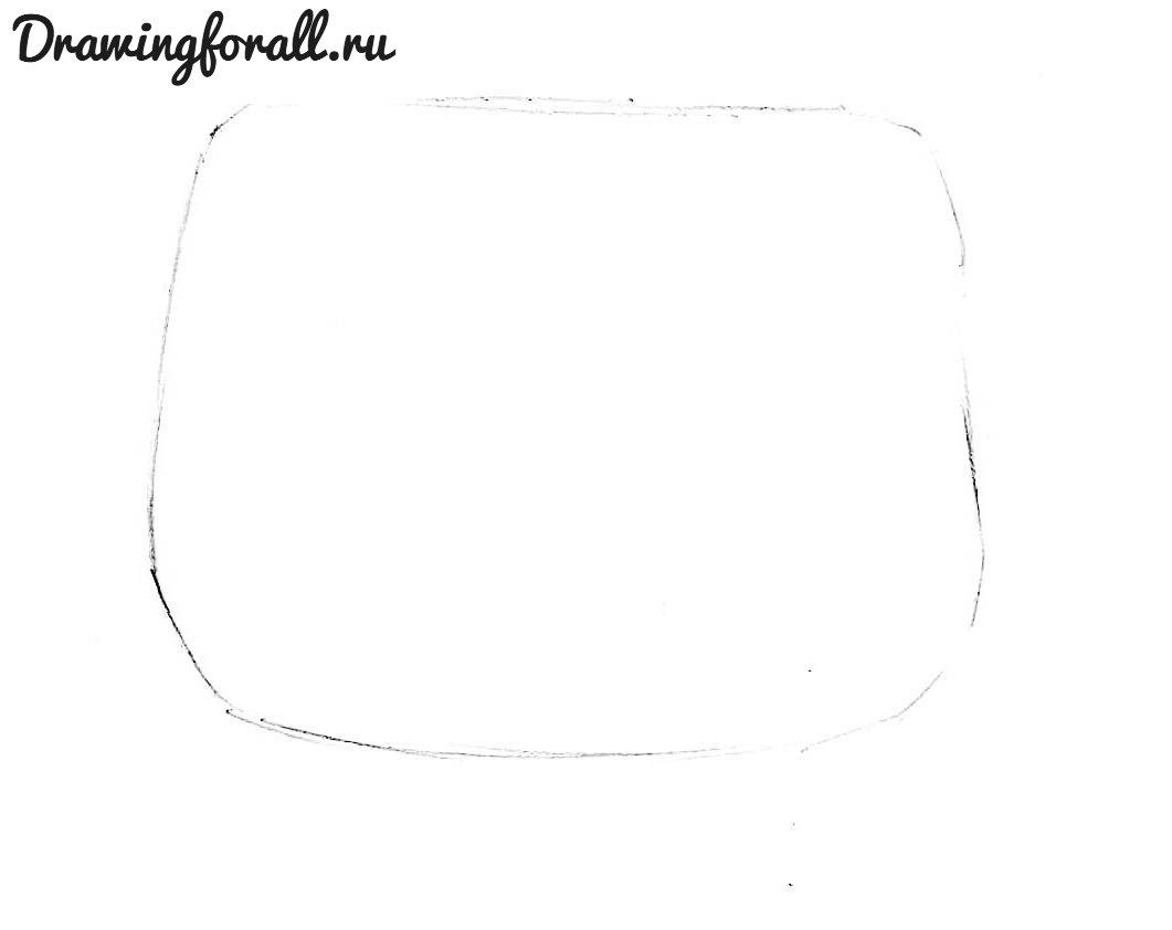 672c45d7d901 Как нарисовать сумку поэтапно | Drawingforall.ru