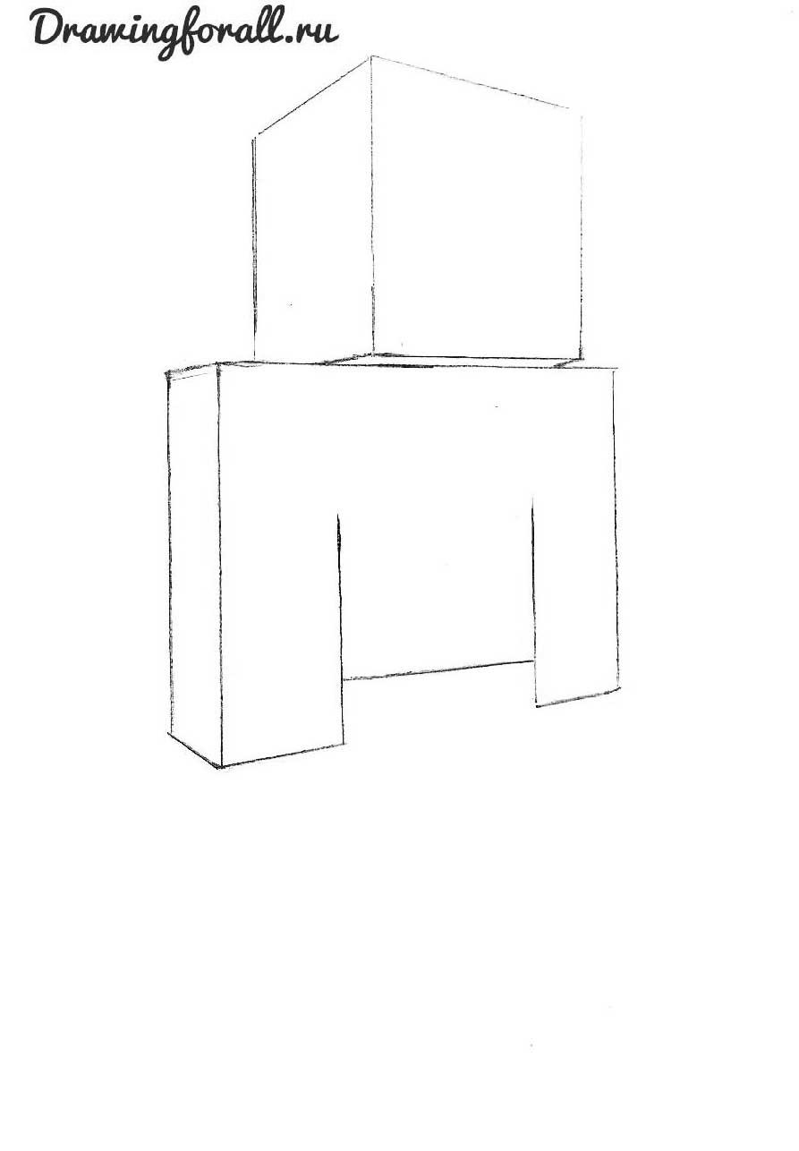 Как нарисовать стива из майнкрафт