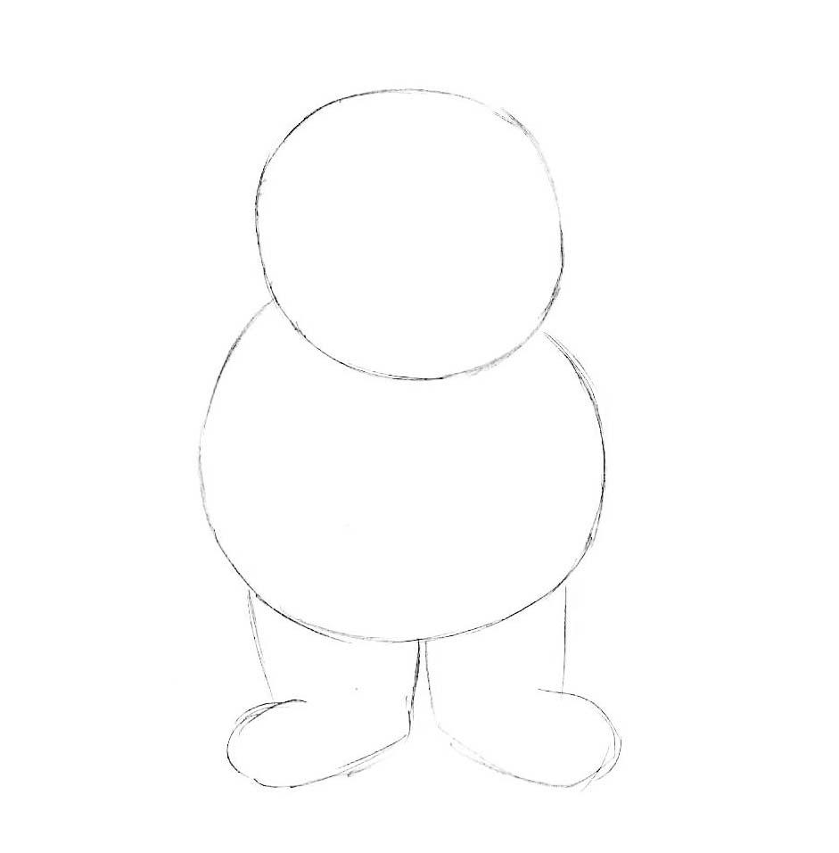 как нарисовать луи андерсона