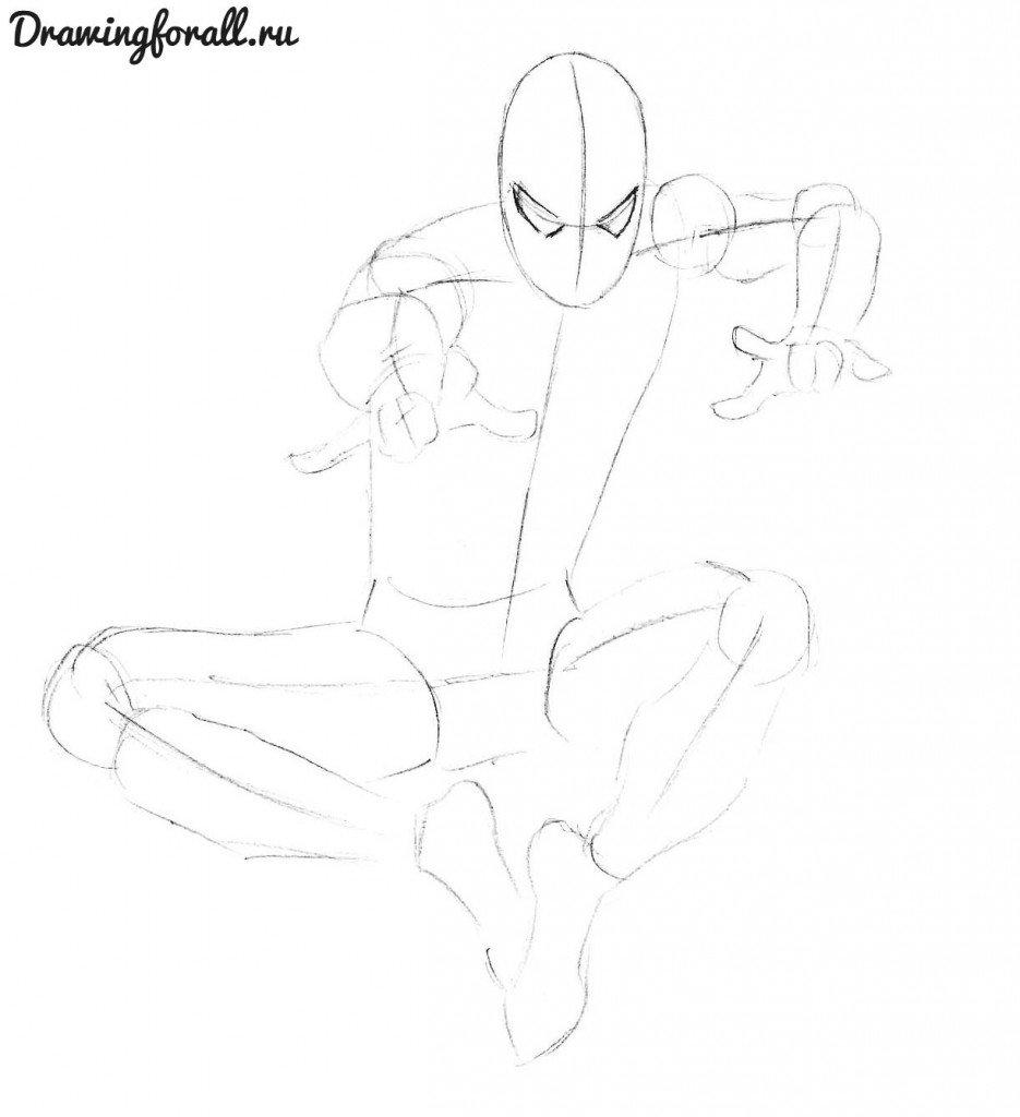 как нарисовать Бена рейли