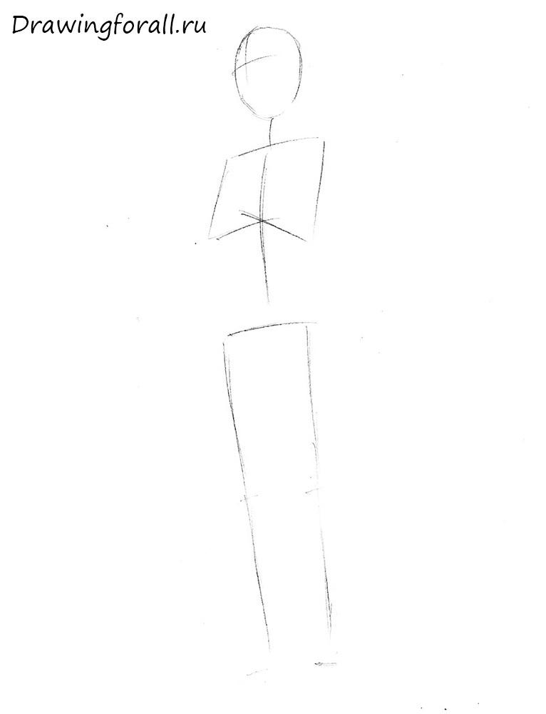 как нарисовать битарда