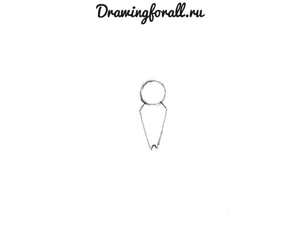 как нарисовать знак человека паука