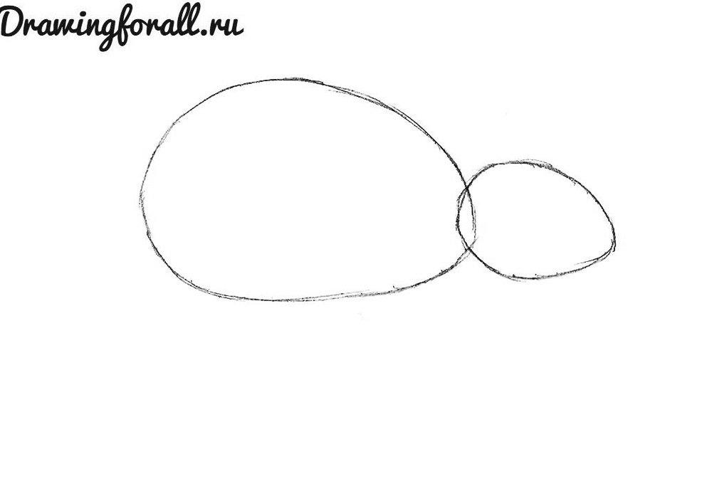 как нарисовать мышку для ребенка