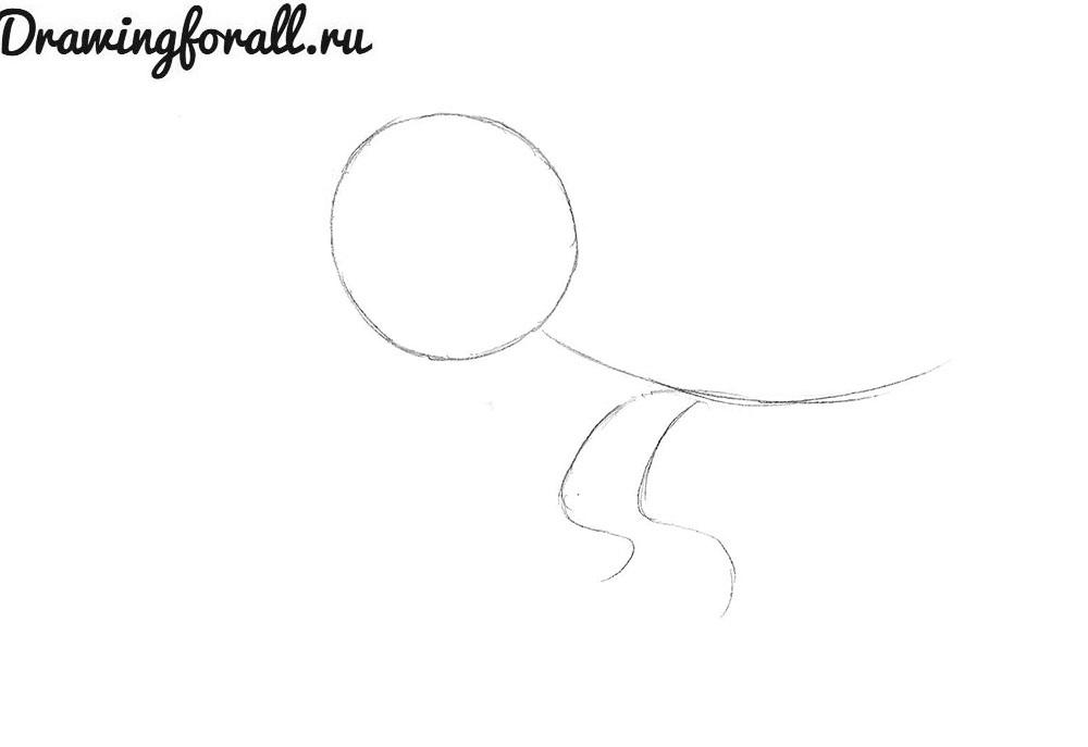 как нарисовать теккен