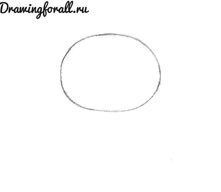как нарисовать хелло китти