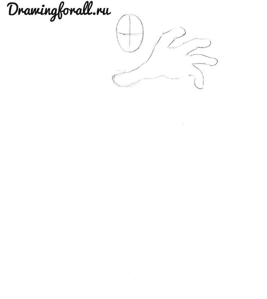 как нарисовать фантастическую четверку