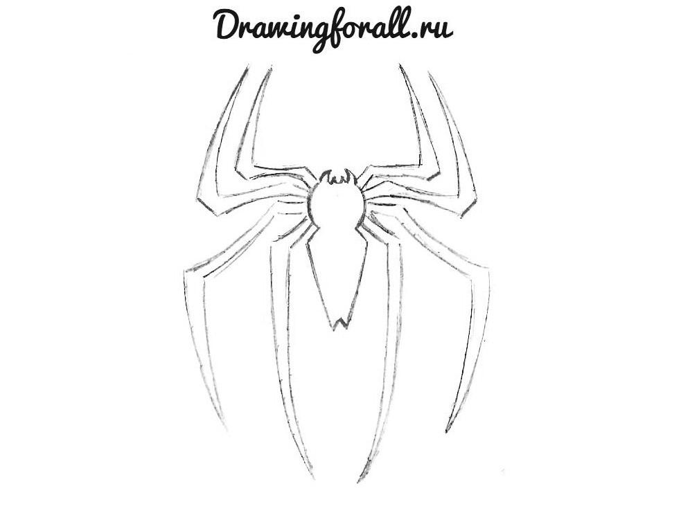 эмблема человека паука