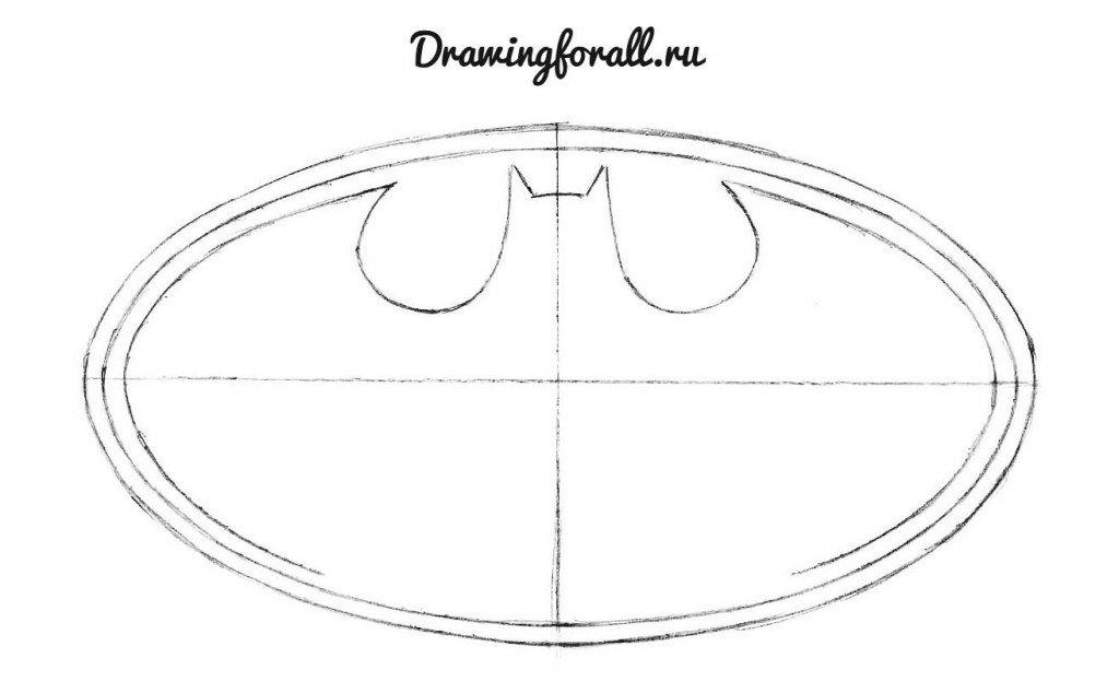 5 Как нарисовать Бэтмена