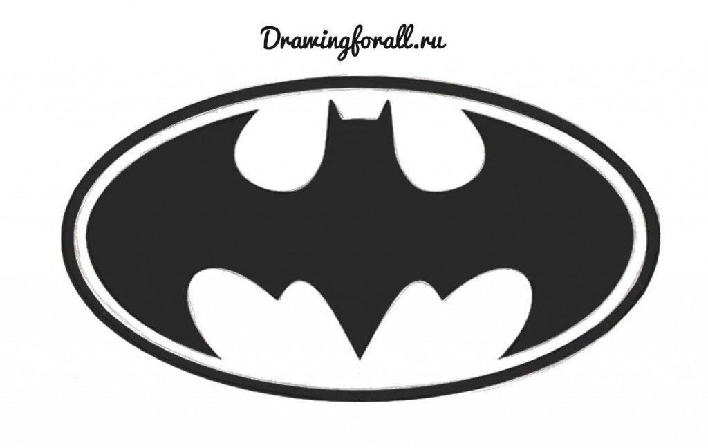 значок Бэтмена