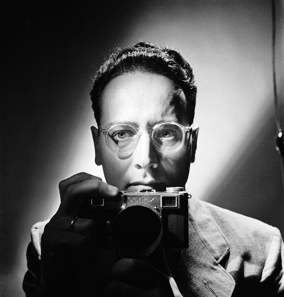 Andreas Feininger  portrait