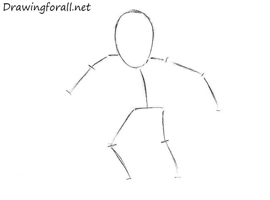 как нарисовать росомаху для детей