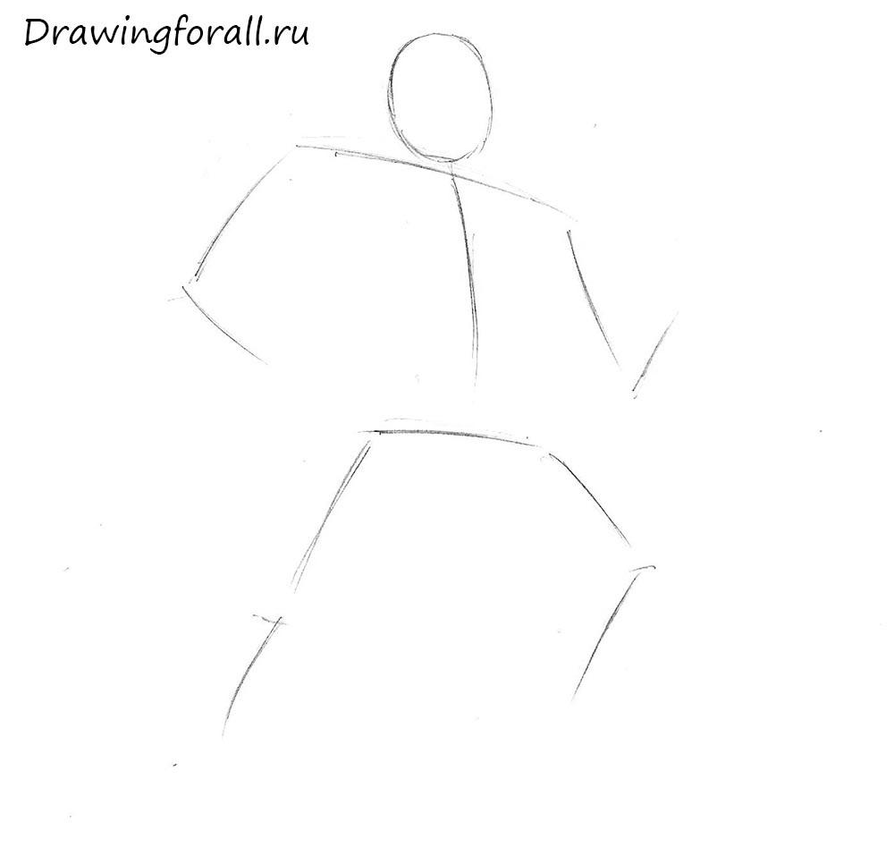 как нарисовать существо