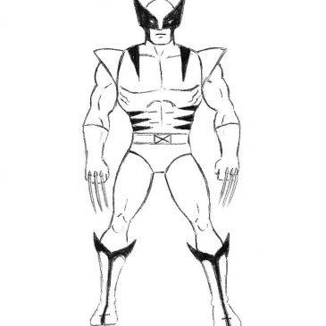 Как нарисовать Росомаху для начинающих