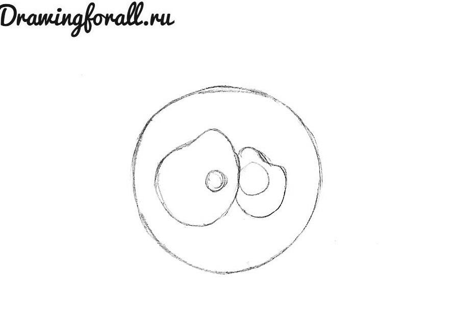 как нарисовать мультяшного  паучка