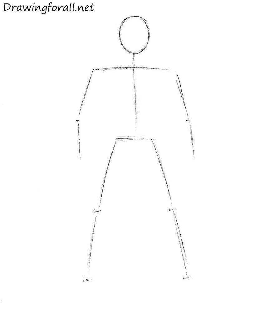 Рисуем Росомаху для начинающих