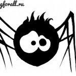 Как нарисовать паучка