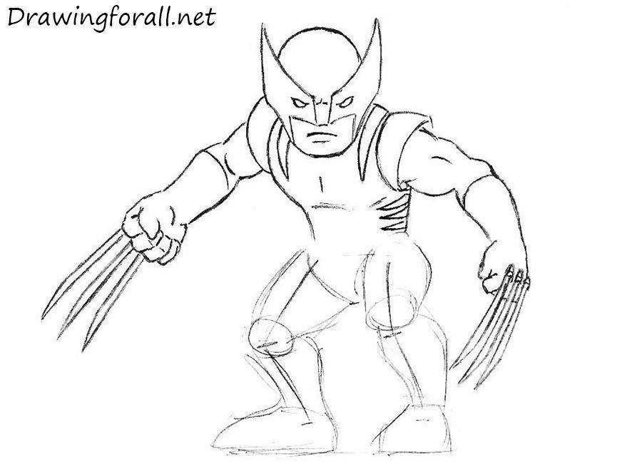 как нарисовать супергероя для детей