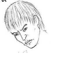Как нарисовать Ло из Теккена