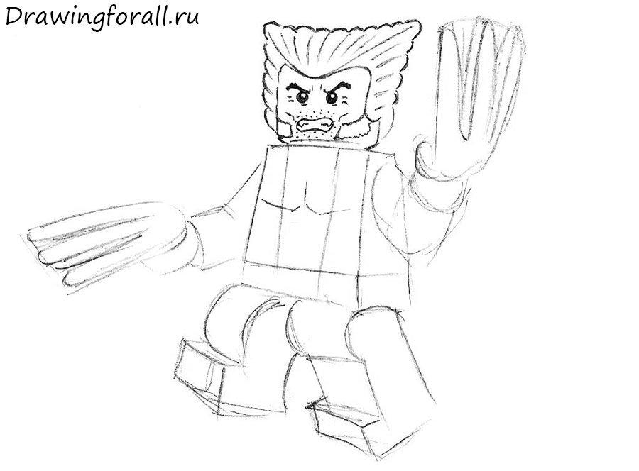 Росомаха Лего