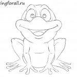 Как нарисовать лягушку для ребенка