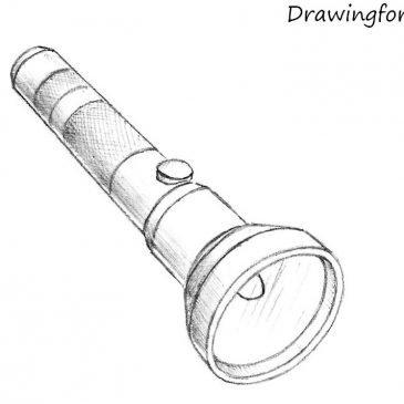 Как нарисовать фонарик