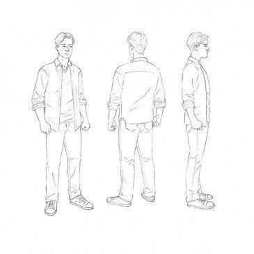 Как нарисовать человека для начинающих