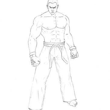 Как нарисовать Казуя