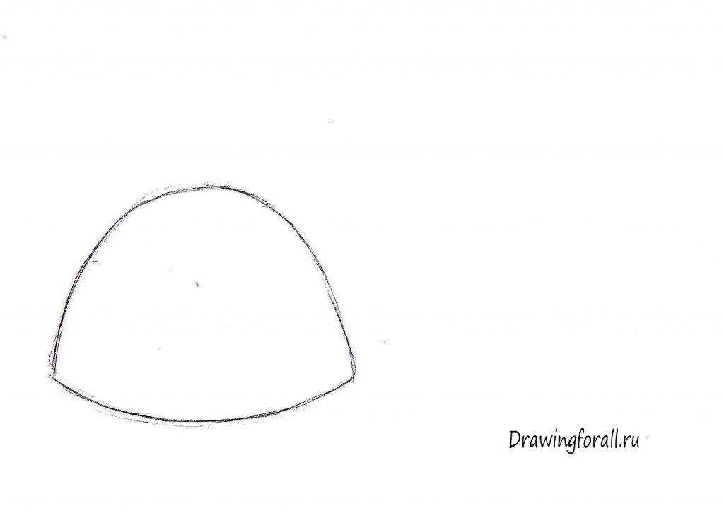как нарисовать чайник поэтапно