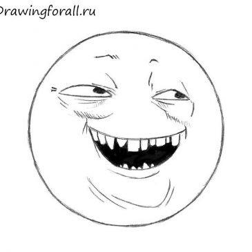 Как нарисовать мем Бугурт
