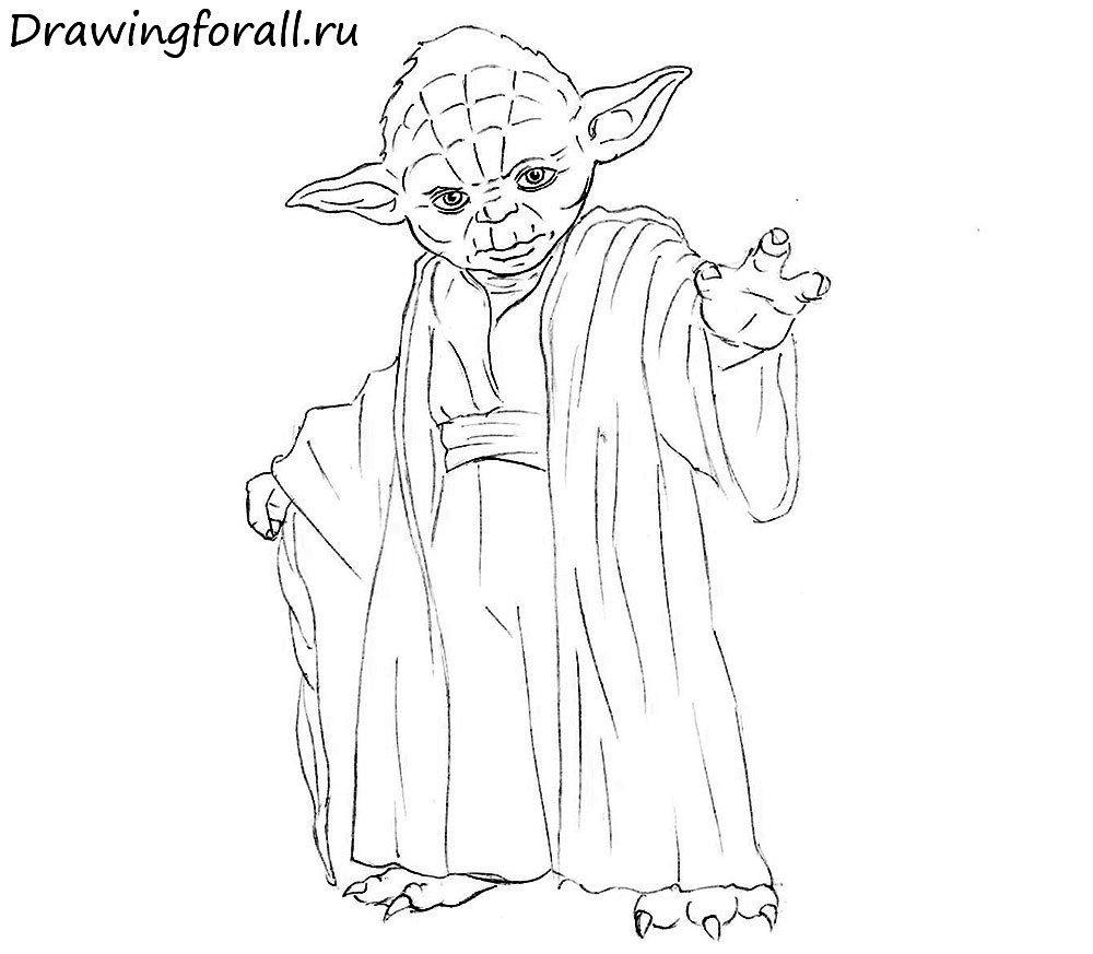 Как нарисовать Звёздные Войны