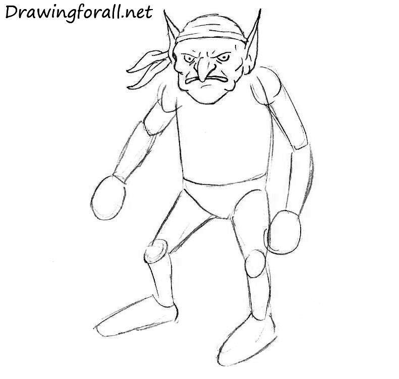 гоблин нарисовать