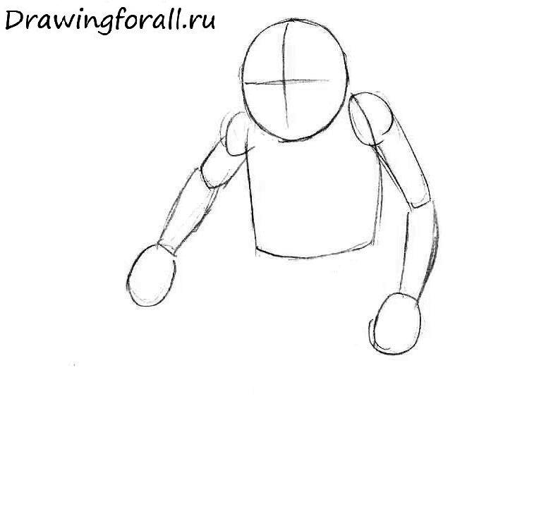 как нарисовать гоблина классического