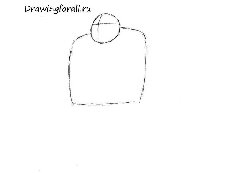 как нарисовать орка для начинающих