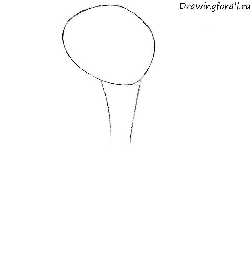 Как нарисовать пришельца