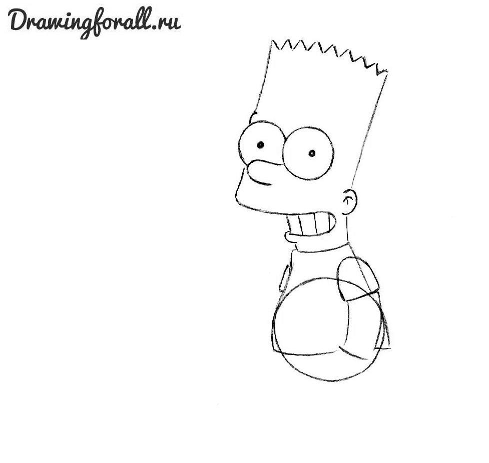 Как нарисовать Симпсона