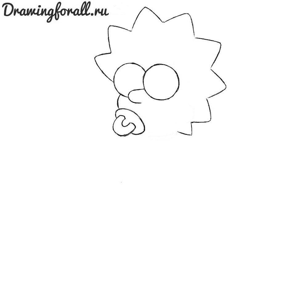Как нарисовать Симпсонов поэтапно
