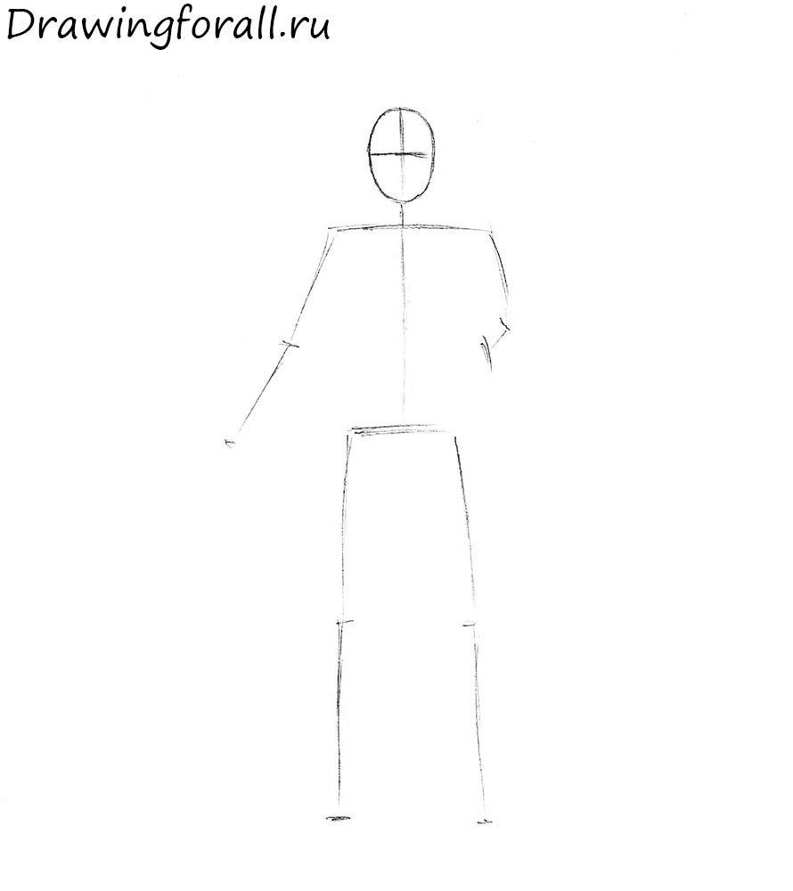Как нарисовать мага поэтапно