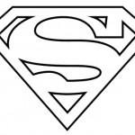 Как нарисовать знак Супермена