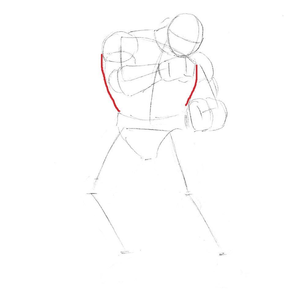 Как нарисовать Рю