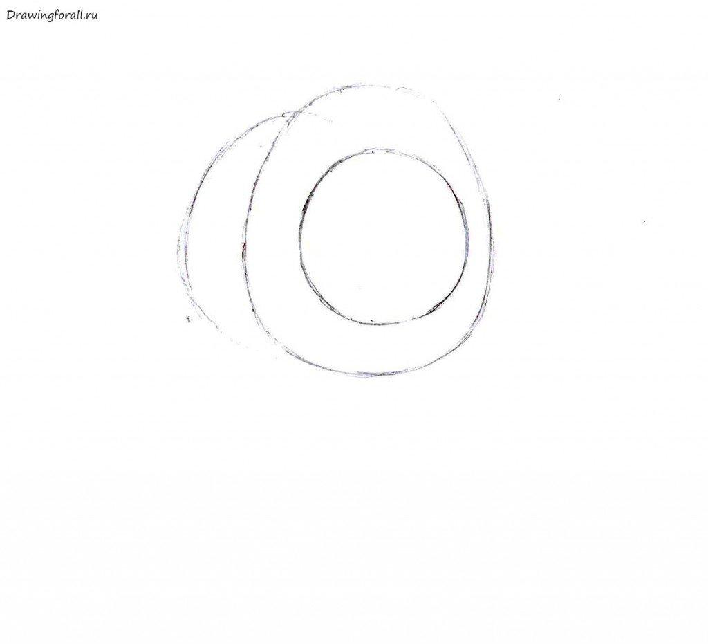 Как нарисовать панду поэтапно