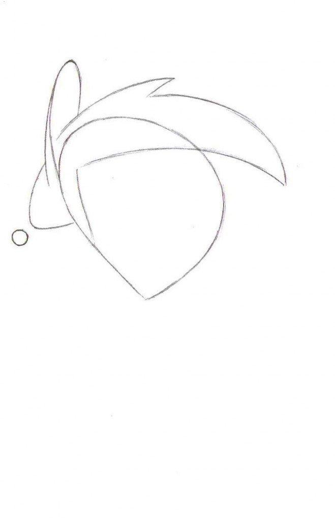 Как нарисовать Тимми Тёрнера поэтапно