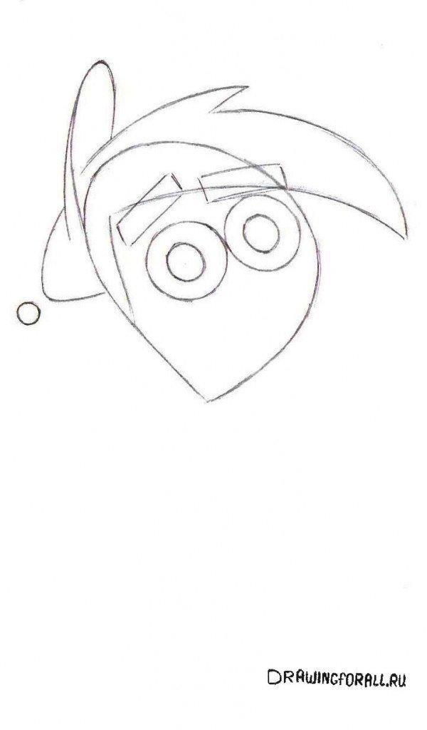 Как нарисовать Тими Тёрнера