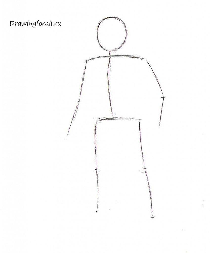 Как нарисовать гнома