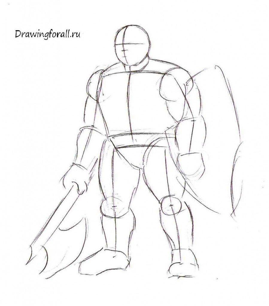 Как нарисовать дварфа