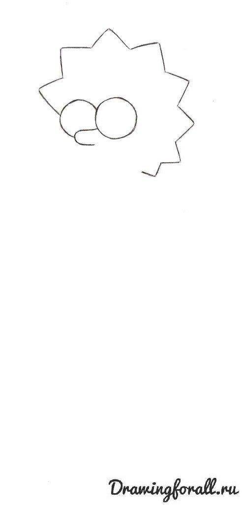 Картинки Лиза Симпсон нарисовать