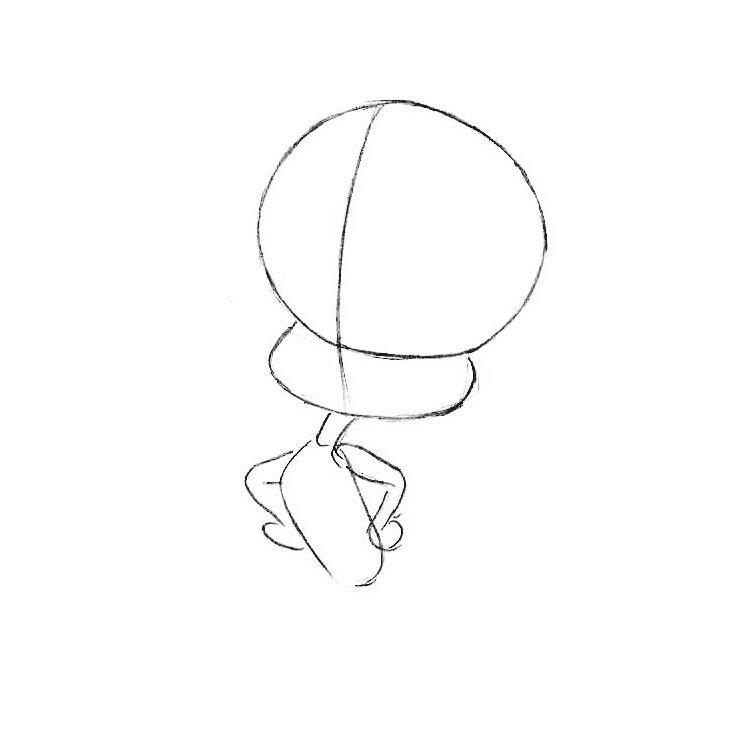 Как нарисовать Твити шаг за шагом
