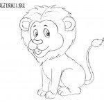 Как нарисовать льва для детей